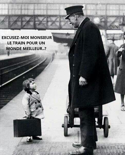 Train pour un monde meilleur