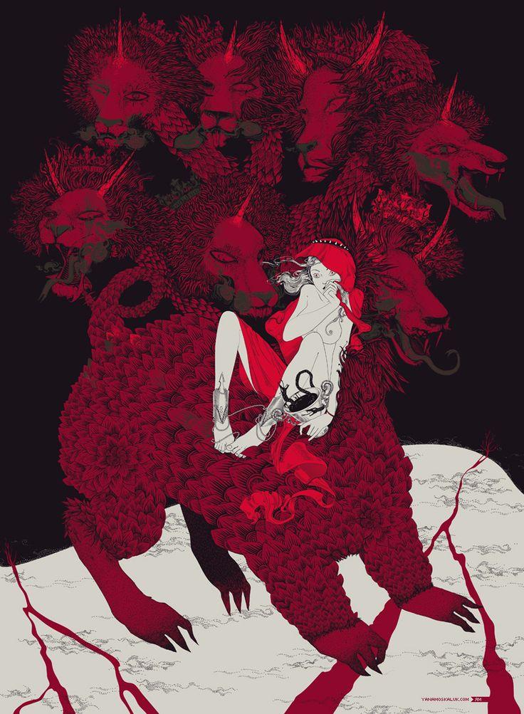 The Beast of the Apocalypse by ~ya-na on deviantART