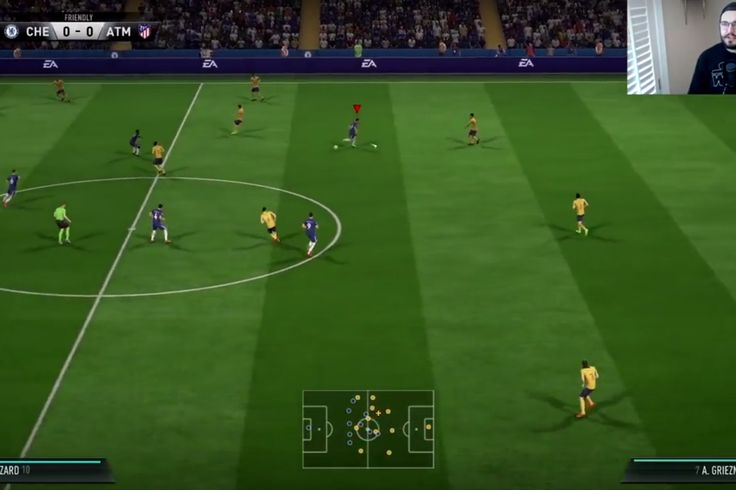 Let's play FIFA 18: Chelsea vs. Atletico Madrid