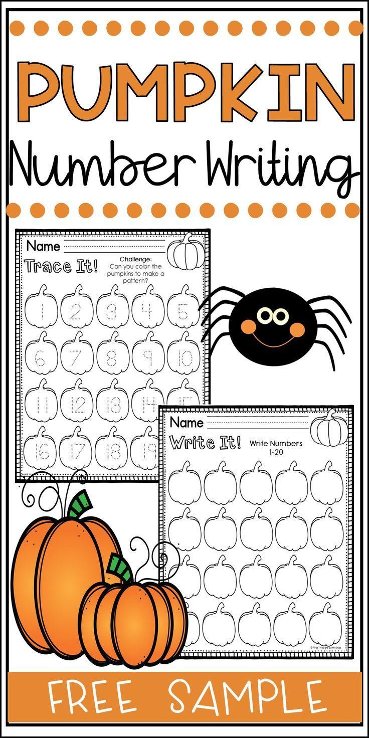 Number Writing Pumpkin Numbers Halloween Number Writing Counting Worksheets For Kindergarten Writing Numbers Kindergarten Writing Numbers [ 1472 x 736 Pixel ]