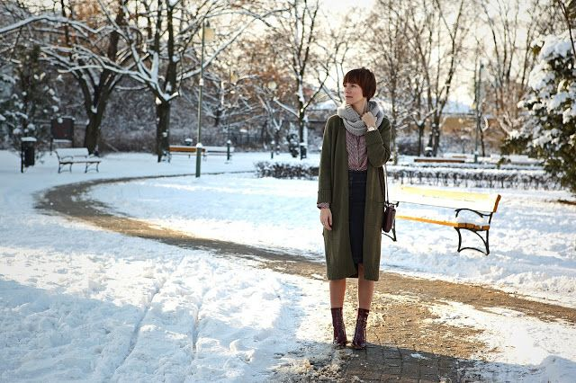 StyleMania: WINTER STORY - A LONG CARDIGAN