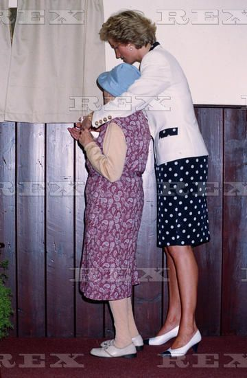 12 July 1990 Princess Diana at the International Congress for the Family, Brighton,