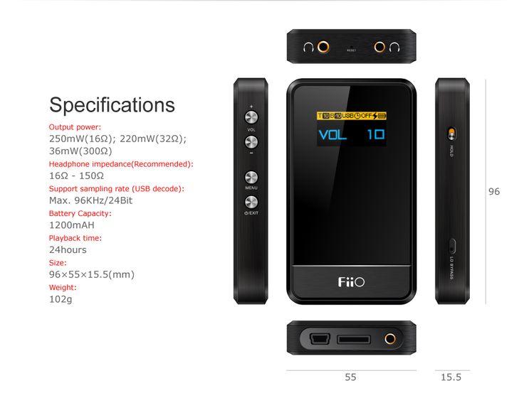 FiiO Andes E07K   USB DAC   $89