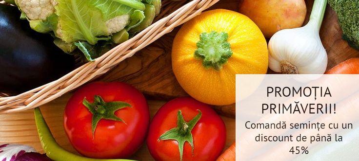 Mai ai la dispoziție doar 2 zile în care poți beneficia de reduceri speciale de până la 45%, comandând semințe din magazinul nostru online Grădinamax! Vezi detalii aici: https://gradinamax.ro/promotii/super-reduceri-45-pentru-seminte!
