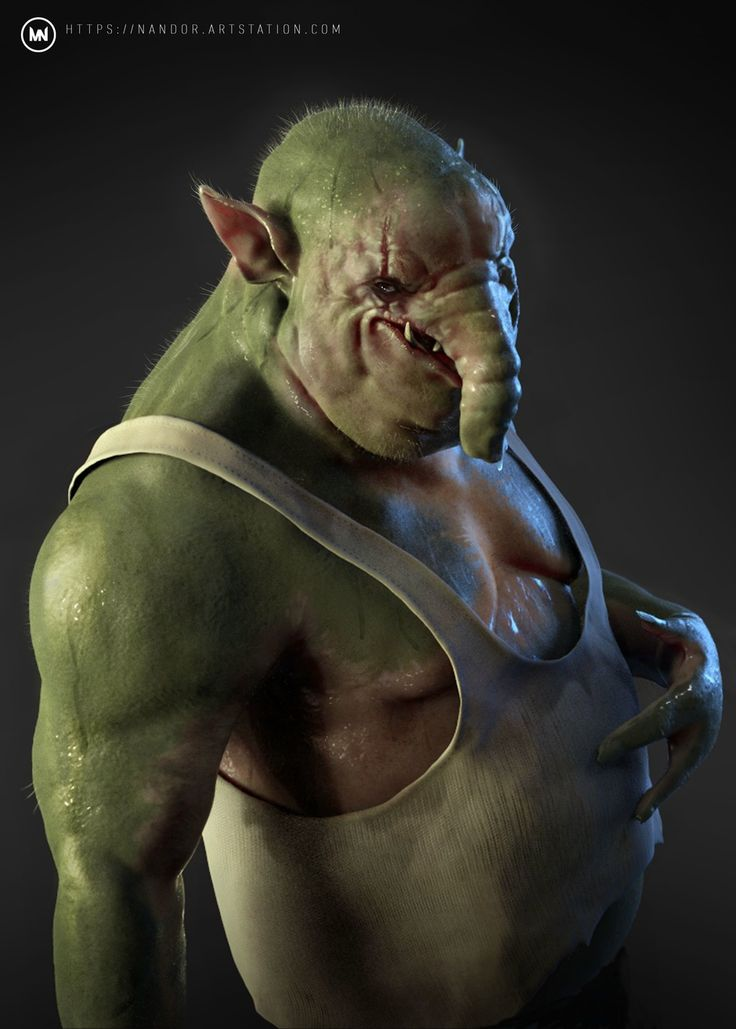 alien concept by nandor moldovan creatures 2d