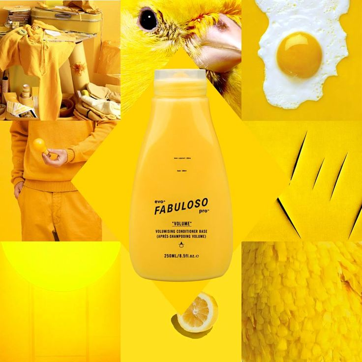 Chirp, chirp! Get the look by mixing 230g conditioner base + 60g yellow = #evo® fabuloso pro™ 'big bird'.