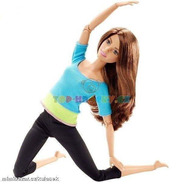 BRB Barbie hnědovláska v pohybu 469,-