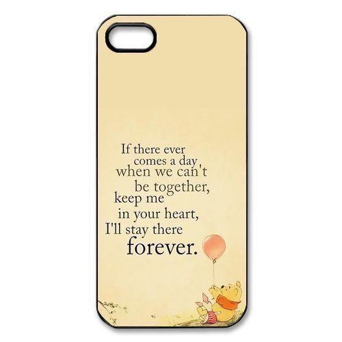 Customized Winnie the Pooh Hard Case for Apple IPhone 5/5S:Amazon:Cell Phones & Accessories