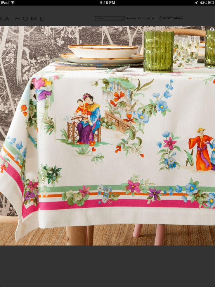 382 best vintage tablecloths images on pinterest classic for Where can i buy table linens