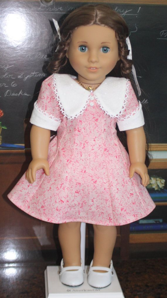 American Girl 1970s Sweet Pink Dress by RuthielovestoSew on Etsy