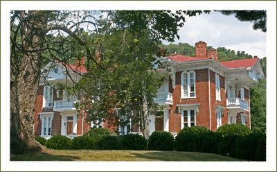the colonel roderick butler house in mountain city near