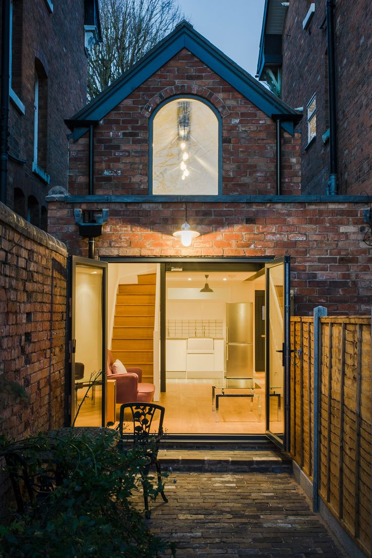 This small victorian coach house can be found in for Small architecture firms