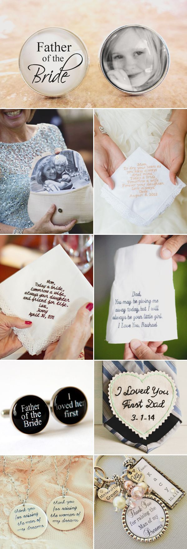 38 Creative Ways to Honor Your Parents at Your Wedding - Special Gifts for Parents