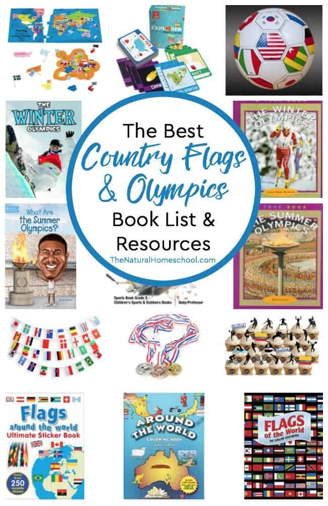 The Best Country Flags & Olympics Book List & Resources