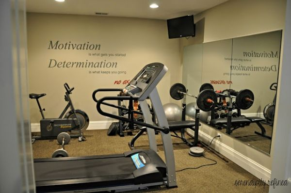 basement gym by DaisyCombridge