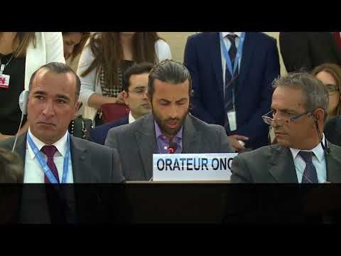 AMBUSHED: U.N. Heads Turn in Stunned Disbelief as PLO Lies Exposed by Palestinian Hero - YouTube
