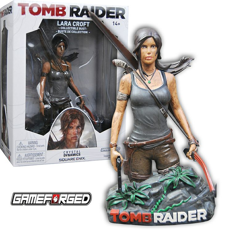 Lara Croft bust
