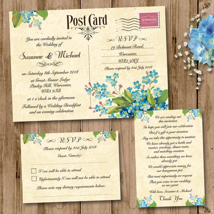 12 best Wedding Invitation Sets, rustic, vintage, pastel colours ...