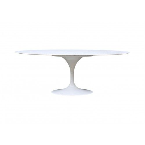 Tulip Dining Table Oval Marble Eero