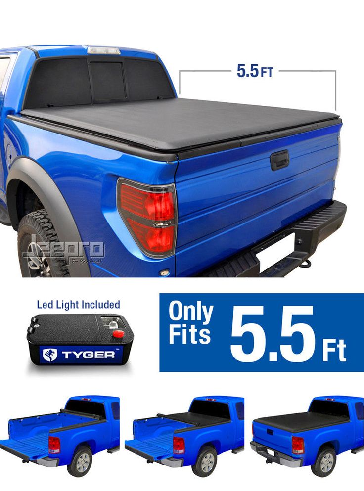 Nice Great TYGER TOPRO Roll Up Tonneau Cover For 2014-2018 Toyota Tundra 5.5ft Bed 2017 2018