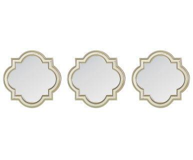 Набор из 3 зеркал - стекло