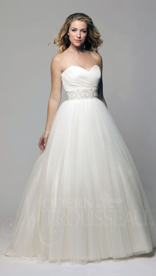 ball gown, ballerina style, ballgown, bridal gowns, lace sash, tulle skirt, , dresses, gowns, wedding gowns, sweetheart, natural waist, strapless, silk, tulle