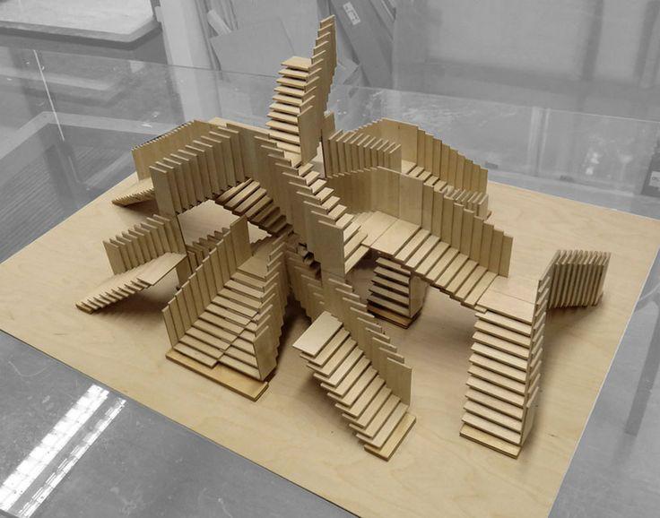 dRMM endless stair at tate london design festival designboom