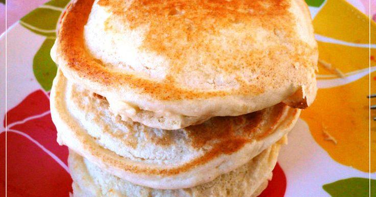 10/15発売クックパッドの朝ごはんに掲載! 市販のミックスを使わない無添加のパンケーキ! 子供の朝食に簡単に作れます。