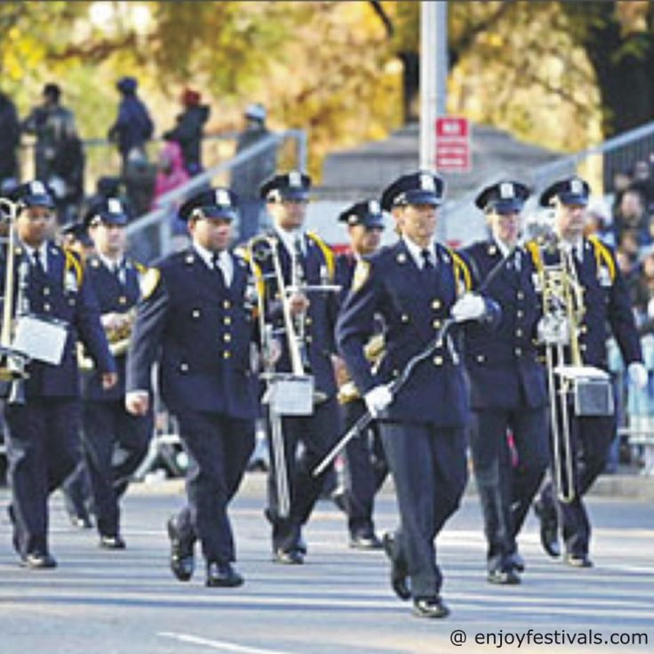 NYPD Marching Band - Macy's Thanksgiving Parade 2016