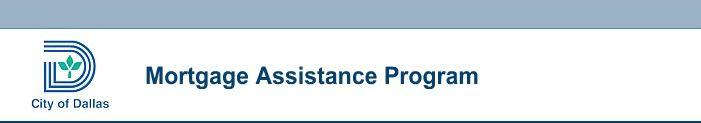 City of Dallas - Mortgage Assistance Program