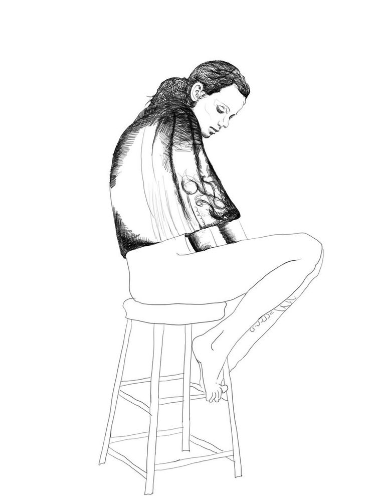 Seated Figure on Stool XI (WIP) by GrakusArt on DeviantArt