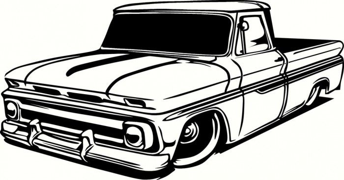 Pin by Courtney Lamey on coloring | Pinterest | Trucks, Chevrolet ...