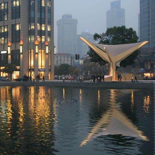 Noway Pavilion Shanghai World Expo re-purposed