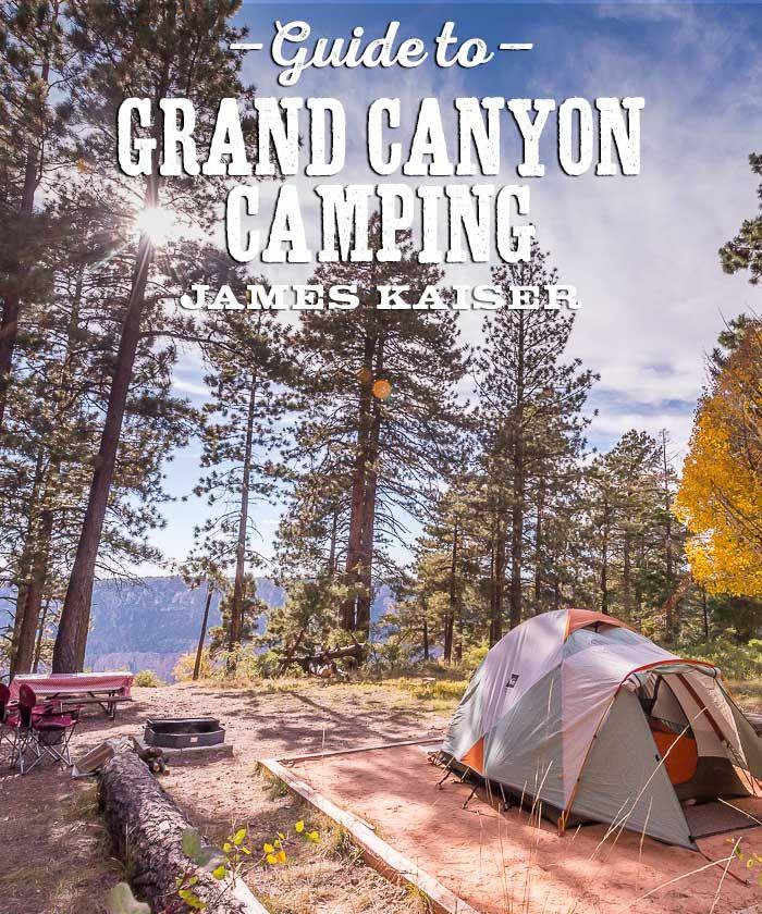 Camping at top of Grand Canyon