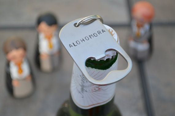 "Alohomora Bottle Opener Keychain — $10.95 | 21 Magical ""Harry Potter"" Kitchen Items You Need Right Now"
