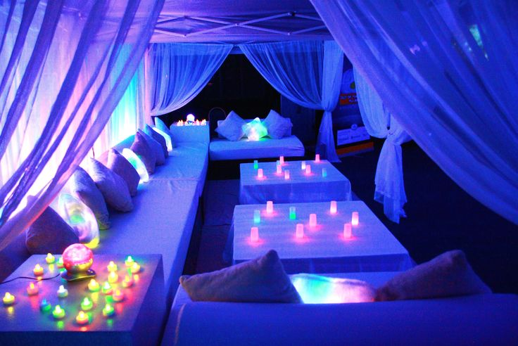 'Out of this World' Gala Dinner Lounge in Fiji
