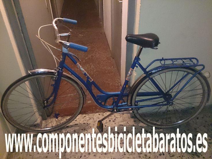 ¿ Os suena de algo ? Revisa alguna foto anterior que hemos colgado .. Sí  ,es la bh que parecía chatarra . Propiedad de componentes bicicleta baratos en Zaragoza.