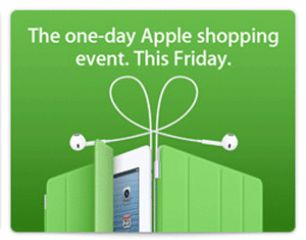 Apple Store down ahead of Apple Black Friday 2012 Sale In US