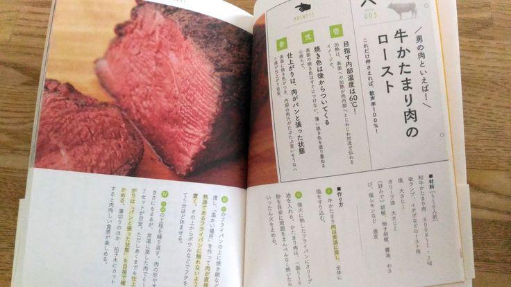 マガジンハウス 松浦達也「大人の肉ドリル」本文1 牛_牛かたまり肉のローストビーフのレシピ