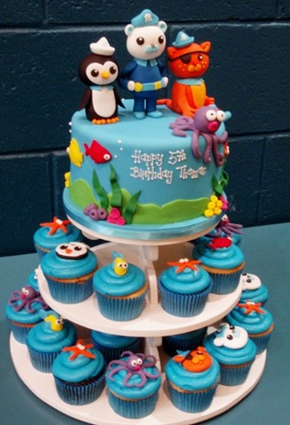 Bruce loves the Octonauts! I wonder if this would be manageable for Bruce's birthday party!?!?!