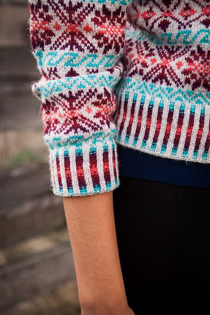 587 best Knitting Fair Isle- Mønsterstrikking images on Pinterest ...