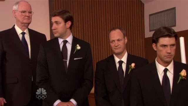 The Office - Jim and Pam getting married dance [ JK Wedding Entrance Dance Style ] by Larsen. From The Office Season 6 Episode 4