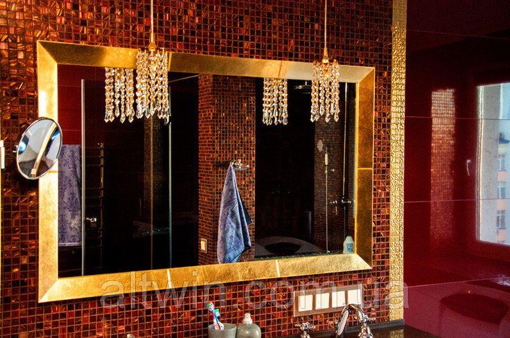 Элитное квадратное зеркало в раме №8 - цена в Киеве. Настенные зеркала в раме от ООО «Альтвин групп»