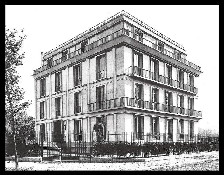 Architectes: Auguste Perret [1874-1954] Gustave Perret  [1876-1952]