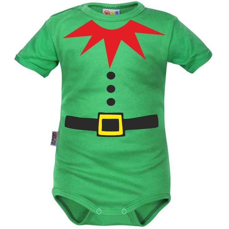 Body bébé lutin de Noël - Bodies bébé de Noël - SiMedio