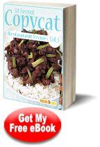 33 Top Secret Copycat Restaurant Recipes: Volume III