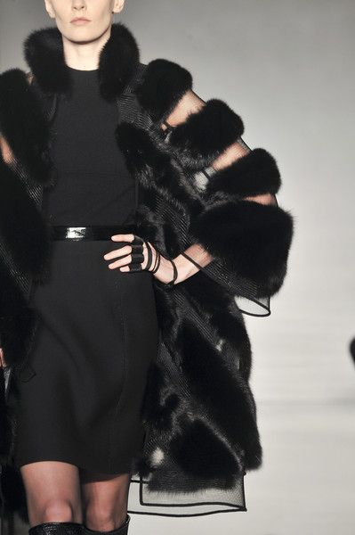 Love the fur and the sheer effect