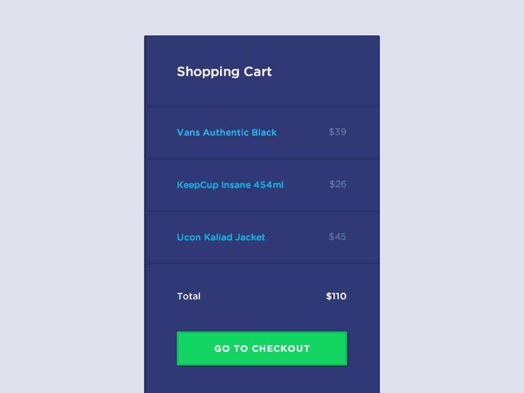 Shopping Cart by Jaromir Kveton