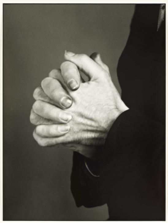 August Sander 'Studien - Der Mensch [Hands of a touring Actor]', c. 1929, printed 1990 © Die Photographische Sammlung/SK Stiftung Kultur - August Sander Archiv, Cologne; DACS, London, 2015.