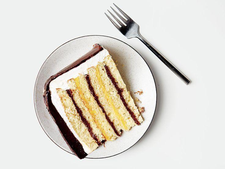 New Orleans Lemon Doberge Cake Recipe